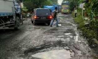 Jalan Rusak di Riau Meningkat Jadi 721,02 Km