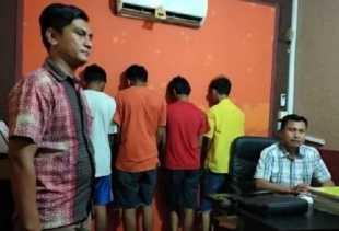 Demi Game Online, 5 Remaja di Pekanbaru Nekat Curi Motor Nmax Polisi di Asrama, Begini Jadinya...