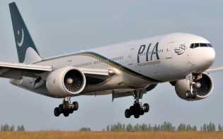 Pesawat Pakistan Angkut Tujuh Penumpang Berdiri Selama Penerbangan