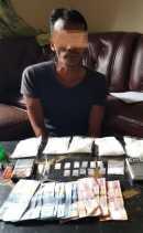 Bandar Narkoba di Tapung Hilir Disergap, Polisi Temukan Setengah Kilogram Sabu