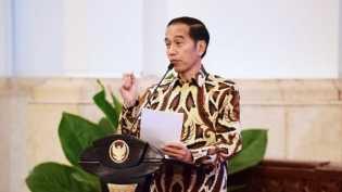Jokowi Tak Mau Indonesia Jadi Negara Penadah Bantuan