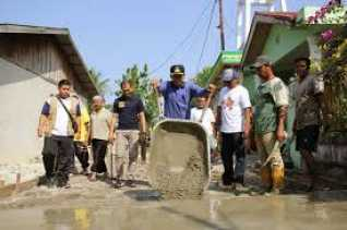 Saluran Lingkungan di Labuhbaru Mencapai Timur Rp 5,3 Milyar