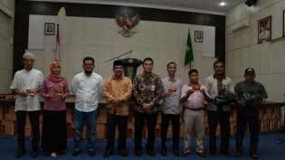 Masyarakat Kurang Mampu di Kampar dapat Paket Sembako dari Bank Riau Kepri