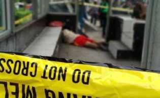 Heboh...! Seorang Pria Ditemukan Jadi Mayat di Halte Jalan Jenderal Sudirman Pekanbaru