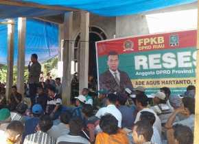 Warga Desa Alim II Inhu Sampaikan Keluhan Kepada DPRD Riau