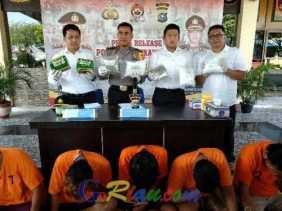 Kurir 3 Kilogram Sabu digulung Aparat Polresta Pekanbaru saat Terjebak Macet di Simpang Bingung