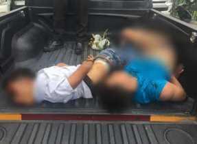 Kurang dari 24 Jam, 3 Perampok Bersenjata Api di Pergudangan Angkasa II Pekanbaru Diringkus Polisi