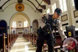 Kebaktian di Gereja Hantuah Pekanbaru di Hentikan 45 Menit Karena Bungkusan Mencurigakan