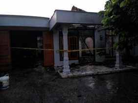 Karena Arus Pendek Listrik, 1 Rumah di Pandau Terbakar