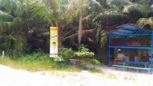 Spanduk Paslon Gubri Masih Bertebaran di Jalan Kutilang dan Delima