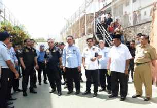 DPR RI Kunjungi Lapas Sialang Bungkuk, Ternyata Memang Over Kapasitas