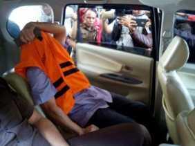 Mantan Kepala BPN Kampar Resmi Ditahan Kejati Riau