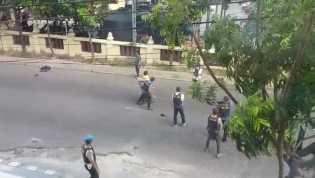 Beredar Video Penangkapan Pria Terduga Teroris di Samping Polresta Pekanbaru