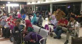 Penumpang Lion Air yang Delay Bermalaman di Bandara Cengkareng