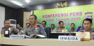 Selama 2016, 45 Personil Polda Riau Dipecat
