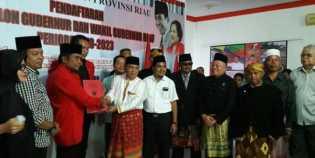Baru Dua Balon Gubernur Riau Daftar Ke PDI P