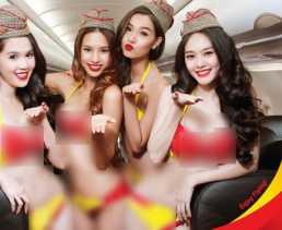 Pramugari Bikini Akan Hadir di Indonesia Pertengahan Tahun Ini