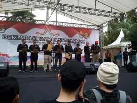 KPU Riau Gelar Kampanye Damai dan Anti Hoax Pilkada 2018