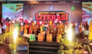 Sekda Prov Buka Festival dan Lomba Literasi PKLK Tingkat Nasional 2017