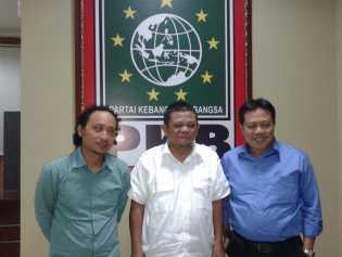 Jufri Zubir Hadiri Undangan DPP PKB  Ikuti  Fit and Proper Test