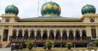 Hanya di Pekanbaru; Mesjid Paripurna Buka Pos Pelayanan Kesehatan