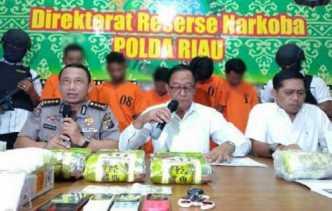 Polda Riau Telusuri Rekening Lain Milik Narapidana yang Diduga Jadi Pengendali Sindikat Narkoba