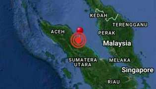 Deliserdang, Sumatera Utara Kembali Diguncang Gempa