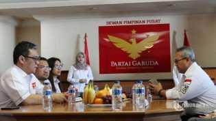 Jadi Peserta Pemilu 2019, Ini Partai Garuda, Ada Hubungan dengan Keluarga Soeharto