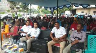 PLN Pekanbaru Tunjuk Pebatuan Jadi Contoh Wilayah Tertib Ukur