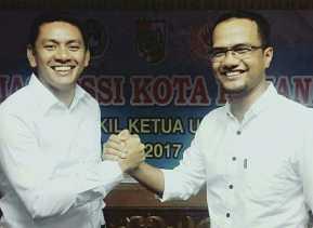 Aklamasi, Edward Riansyah Jabat Ketua PSSI Pekanbaru