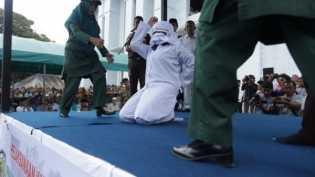 Tak hiraukan Pergub, Banda Aceh tetap lakukan pencambukan di publik, 'mengacu pada fatwa ulama dan D