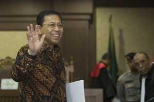 KPK Bawa Setya Novanto Cek Kesehatan ke RSPAD