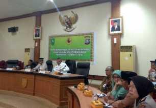 Satgas Saber Pungli Pusat Rakor dengan UPP Riau
