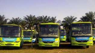 Pekan Depan 25 Unit Bus Hibah Tiba di Pekanbaru