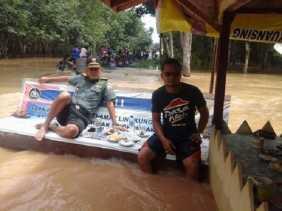 Tiga Hari Dilanda Banjir, Korban di Kuansing 3.702 KK