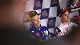 Perseteruan Rossi vs Marquez Berlanjut di MotoGP Amerika