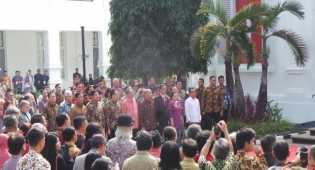 Jokowi Buka Pameran Lukisan Istana di Galeri Nasional
