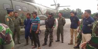 TNI AU dan Polda Riau Tangkap Dua Pembakar Lahan