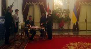 Indonesia Bahas Kerja Sama dengan Ukraina