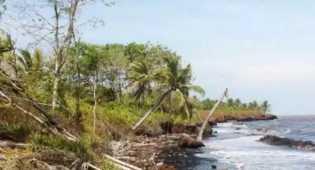 Arman Laporkan Masalah Abrasi Pulau Bengkalis ke JK