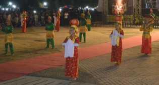 Tari Kolaborasi Melayu-China Buka Festival di Babel