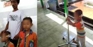 Balita Korban Penembakan Polisi Minta Mainan Ke Kapolda Sumsel