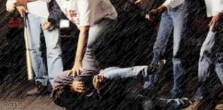 Pencuri Motor Dihajar Massa Usai Kepergok Beraksi di Halaman Masjid saat Jemaah Shalat Magrib