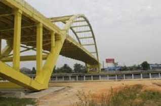 Pemerintah Mulai Bangun Jembatan, Mirip Jembatan Siak II