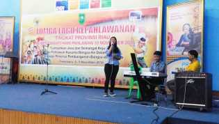 Besok, Natasya Tampil di Depan Gubri Nyanyikan Lagu Pahlawan