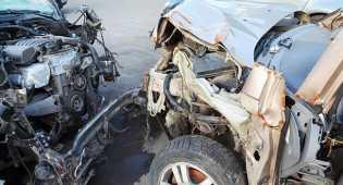 Sopir pickup tewas tabrak pohon Usai Hindari pengendara motor