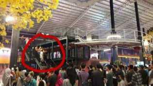 Terseret Wahana ''Roller Coaste'' Teknisi Transmart Meniggal Dunia