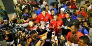 Presiden Jokowi sampai Wakil Ketua KPK nonton final Piala Presiden 2018