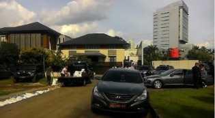 Pasca Digeruduk Massa, Rumah SBY Dijaga Ketat Polisi