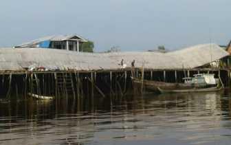 Desa Pelanduk Mandah Dihantam Angin Puting Beliung